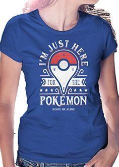 2aaef246 I'm Just Here for the Pokemon - Leave Me Alone Shirt Pokemon Bikini,