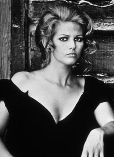 Claudia Cardinale: once upon a time in the west.