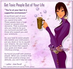 """Get Toxic People OUT of Your Life. Those pathetic people who are too insecure to """"like"""" or comment on your successes but are quick to """"like"""" or comment when you are in need of prayer. You ain't foolin me. I see right through you ;-) Conozco a alguien que encaja perfectamente en el pefil."""