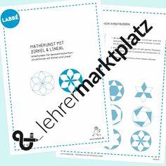 Mathekunst mit Zirkel + Lineal