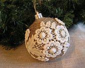 Christmas Tree Rustic  Ornament.