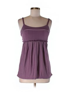 7deb9cc5a17b1 Women Lululemon Cinch Waist Loose Adjustable Straps Purple Yoga Tank Top  Size 6  lululemon  ShirtsTops