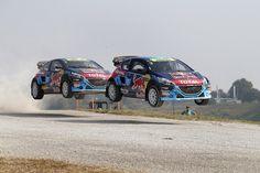 Peugeot - Hansen 208 WRX rallycross cars