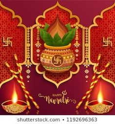 Happy navratri festival card with gold With Beautiful goddess Durga Puja Face and crystals on paper color Background. Happy Navratri Wishes, Happy Navratri Images, Diwali Greeting Cards, Diwali Greetings, Happy Durga Puja, Navratri Festival, Good Morning Beautiful Images, Lakshmi Images, Baby Girl Images