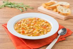 Rosemary Chickpea Soup - Pulse Pledge