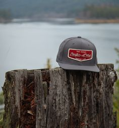 Campers Club Hat - The Great PNW  #pnw #upperleftusa #thegreatpnw #hat #billed #patch #crimson #baseballhat #gifts #apparel #pacific #northwest