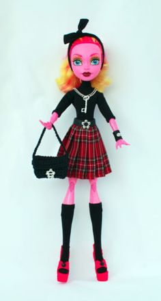 Wechselkleidung-passend-fuer-Monster-High-Gooliope-Jellington-Outfit-SET