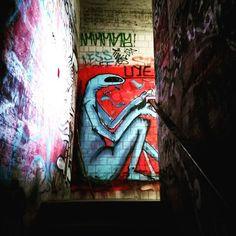 stairs #berlin #teufelsberg #abandoned #stairs #treppen #history #coldwar #abandonedberlin #graffiti #streetart #art #berlinstagram #igersberlin #ig_berlin #travelgram #wanderlust #instatravel #igersgermany
