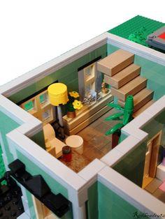 LEGO furniture and interiors - #LEGO LEGO Lego