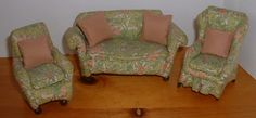 Westacre Village Furniture Sofas & Chairs by Barbara King - Dolls' Houses Past & Present