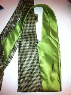 Water bottle Chartreuse lime green tie sling by AllisonKapner, $15.00