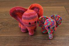 Häkelanleitung Baby-Fant  Mama-Fant made by Streifgetier via DaWanda.com