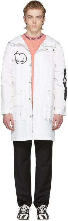 Rochambeau - White Anorak Coat