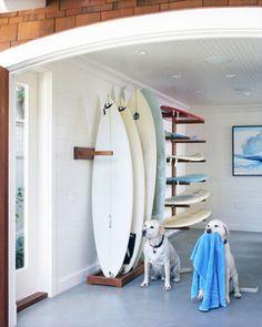 surfboards rack