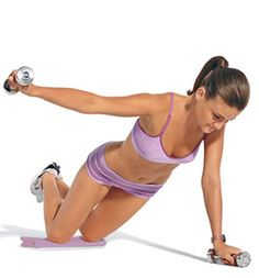 The Easiest Slim-Down Ever:Want results?<br><br>These super sculptors are guaranteed to deliver the gorgeous-body goods because they target multiple muscles like never before. Do this routine three times a week (once through takes only 14 minutes—how easy is that?!), and you'll reveal your firmest, sexiest self. In as little as a month, you will be showing off the not-so-secret results.