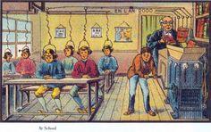 L'an 2000 imaginé en 1900, en 16 illustrations incroyables : ils en avaient de l'idée à l'époque !
