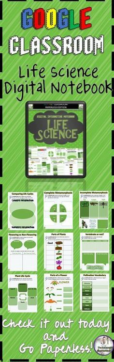 The Google Slides Notebook Activity includes: 1. Cover Page 2. Table of Contents 3. Food Chains Vocabulary 4. Producer/Consumer/Decomposer Sorting Activity 5. Building a Food Chain 6. Complete Metamorphosis 7. Incomplete Metamorphosis 8. Comparing and Con Science Lessons, Life Science, Weird Science, Teaching Science, Third Grade Science, Fourth Grade, Grade 3, Second Grade, Elementary Science Classroom
