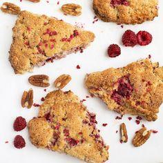 Raspberry And Pecan Scones Recipe | Yummly