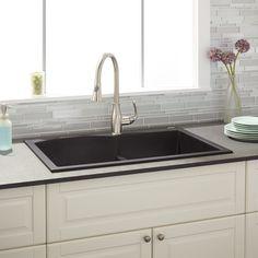21 best black composite sink images granite composite sinks rh pinterest com