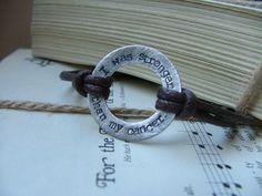 I Was Stronger Than My Cancer Custom Stamped Bracelet by MyBella  https://www.facebook.com/?ref=tn_tnmn#!/MyBellaByLizLollar