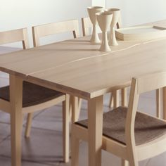 PURO dining table | Design Tuula Falk | Peltola Oy