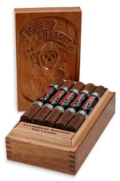"""Sons of Anarchy"" Cigars Commemorate Show's Final Season"