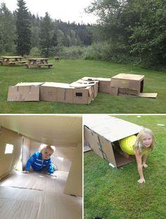 tractor theme photos for toddlers   10 idées pour recycler tes boîtes après ton déménagement