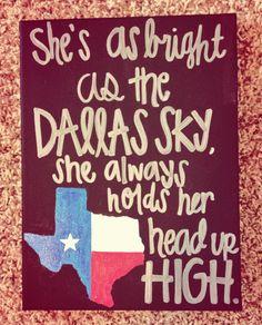 she's like texas- josh abbott band!