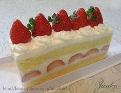 牛乳パックでスクエアショートケーキ・レシピ|ちょっとの工夫でかわいいケーキ