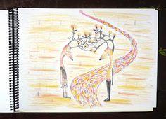 pencils on paper. mirellamusri.com.ar