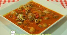 Cómo hacer caracoles en salsa picante         -          Recetas de cocina con sabor tradicional