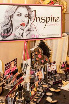 Inspire Cosmetics hit Pamperfest! 2013