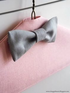 DIY Fabric Covered Hangers