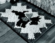 Scotty Rug Pattern - Scottie Potholder | Free Vintage Crochet Patterns Website is great !!!