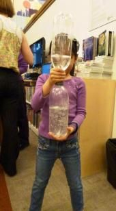 "Tornado in a Bottle - a ""how-to"" from a recent program at the Children's Center!"