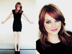 She's quirky! Emma Stone.