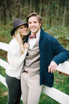 Ralph Lauren Prep-Inspired Engagement by Daniel Cruz Photography
