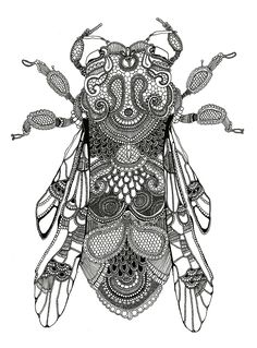 Artists Who Create Artworks of Insects - The Arty Teacher - These insect artists are a great starting point for school art projects and are certain to inspire - Insects For Kids, Bugs And Insects, Insect Crafts, Insect Art, Gcse Art Sketchbook, Sketchbook Project, Insect Activities, Insect Tattoo, Insect Photography