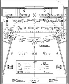 Light Plot The Light Plot is a drawing indicating the placement of the lighting equipment in the theatre. The primary purpose is to depict, in scale, the exact location of all lighting instruments used in a production. It should show the location of the scenery in relation to the physical structure of the theatre. Information about instrument type, color, and control is indicated.