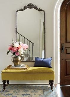 Entryway in need of some TLC? We have a dozen ideas to try on for size.