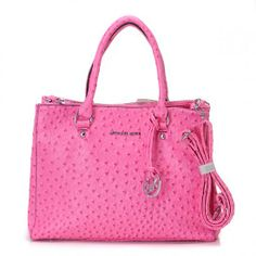 Pin Favor Out,Michael Kors Hamilton,Michael Kors Hamilton Ostrich-Embossed Pink Sale-154
