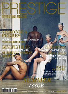 "PRESTIGE INTERNATIONAL MAGAZINE 2016 SUMMER ISSUE ""HAUTE COUTURE""  FASHION & LIFESTYLE LUXURY MAGAZINE"