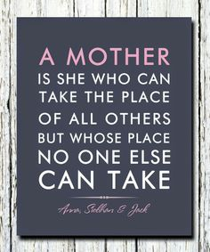 For Mothers Day