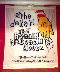 Alpha Delta Pi supports The Ronald McDonald House Georgia Southern ADPi