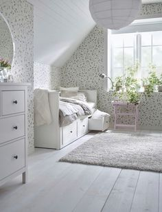 Best Ikea Furniture And Decor Pieces For Small Bedrooms Best Ikea Furniture And Decor Pieces For Small Bedrooms Caroline Meine Wohnung mein Leben mit dir Shop domino […] for home living room top 10 Ikea Hemnes Daybed, Hemnes Bed, Ikea Small Bedroom, Daybed Room, Decoration Ikea, Small Room Design, Tiny Bedroom Design, Best Ikea, One Bedroom Apartment