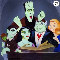 The Munsters, Limited Edition TV Art Prints The Munsters, Munsters Tv Show, La Familia Munster, Game Design, Cartoon Art, Cartoon Characters, Illustrations, Illustration Art, Herman Munster