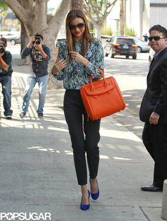 Miranda Kerr Is Probably On Of Our Favorites Street Chic Street Fashion Miranda