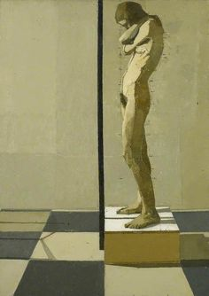 Cave to Canvas, Euan Uglow, Snake, 1976