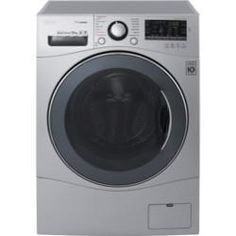 LG FH4A8JDS4 10kg 1400rpm Freestanding Washing Machine Silver