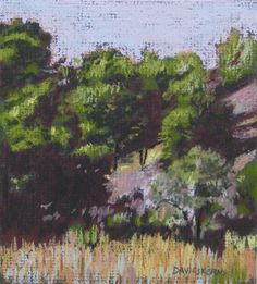 """""""drive to milton-freewater - spring"""" - Original Fine Art for Sale - © mary davies kerns"""